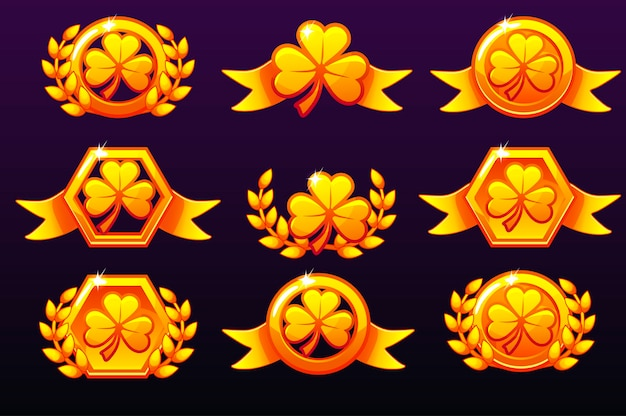 Premios de oro de san patricio.