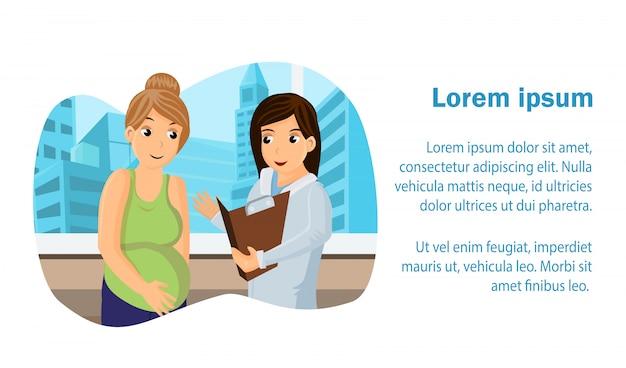 Prenatal medical center web banner
