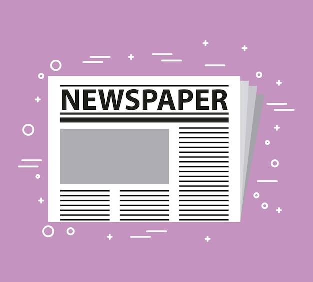 Prensa de periódicos