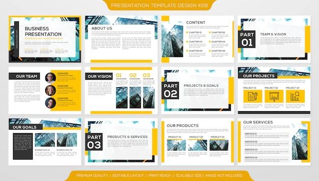 Presentación empresarial de powerpoint