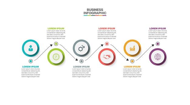 Presentación de infografía empresarial