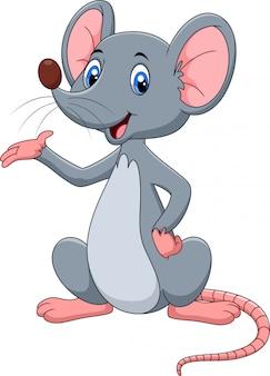 Presentación linda de la historieta del ratón