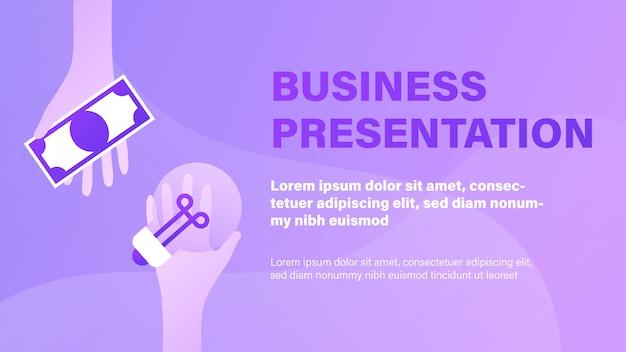 Presentación de negocios