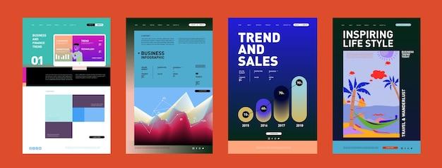 Presentación y diseño de la interfaz del sitio web