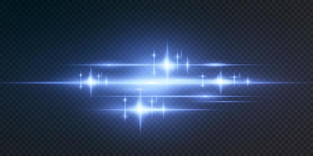 Presentamos los efectos de los juegos de luces de neón.