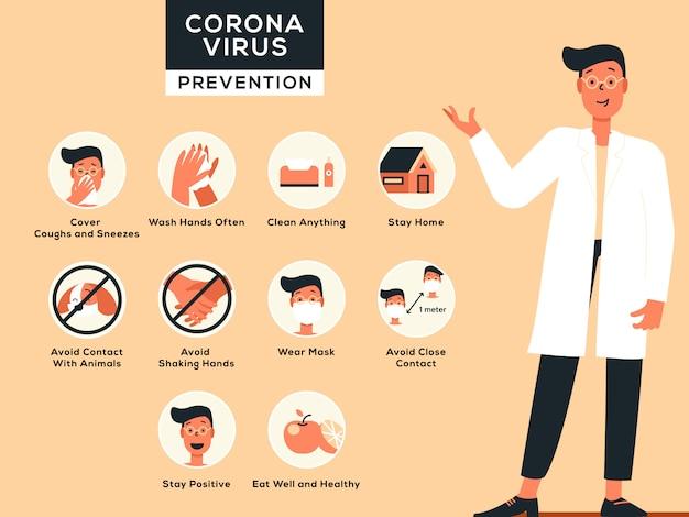 Prevención contra el coronavirus