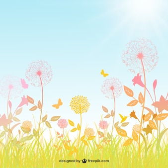 Primavera de fondo