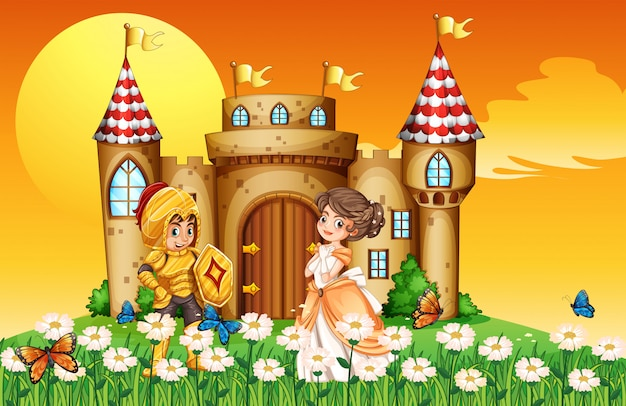 Una princesa y un caballero
