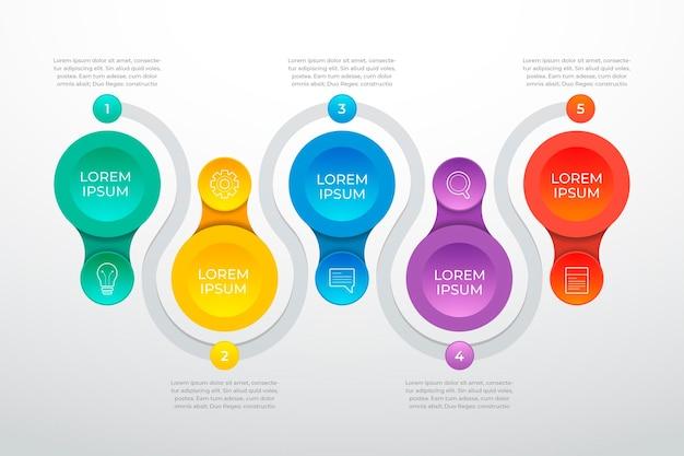 Procesar plantilla de infografía
