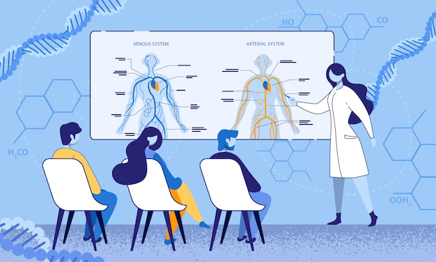 Proceso educativo en consultorio médico