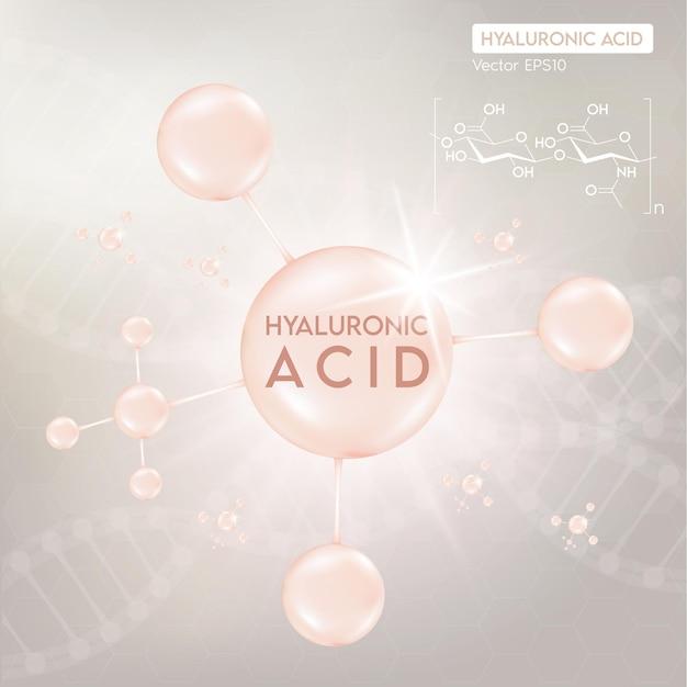 Proceso de rejuvenecimiento de la piel con la ayuda del ácido hialurónico