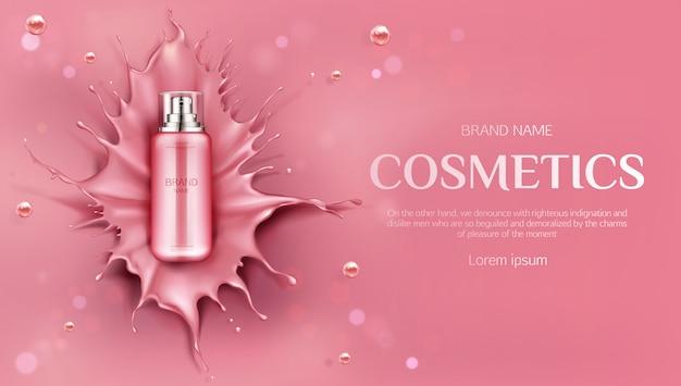 Producto de belleza para el cuidado de la piel banenr