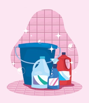 Productos de limpieza y suministros