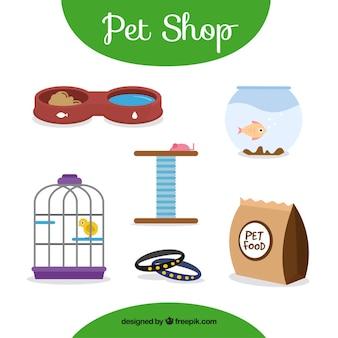 Productos de tienda de animales