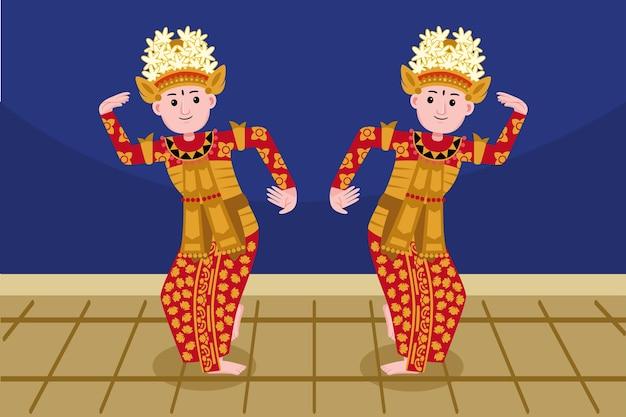 Profesión de bailarina tradicional