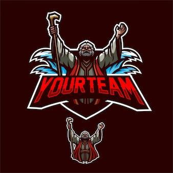 Profet esport gaming mascot logo template