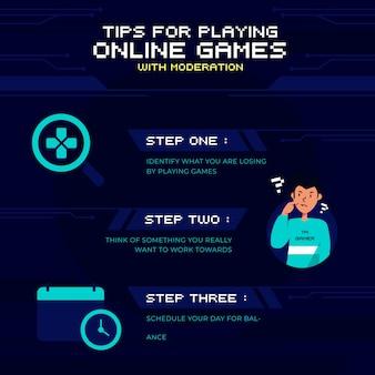 Programa de tiempo de juego y consejos de actividades personales