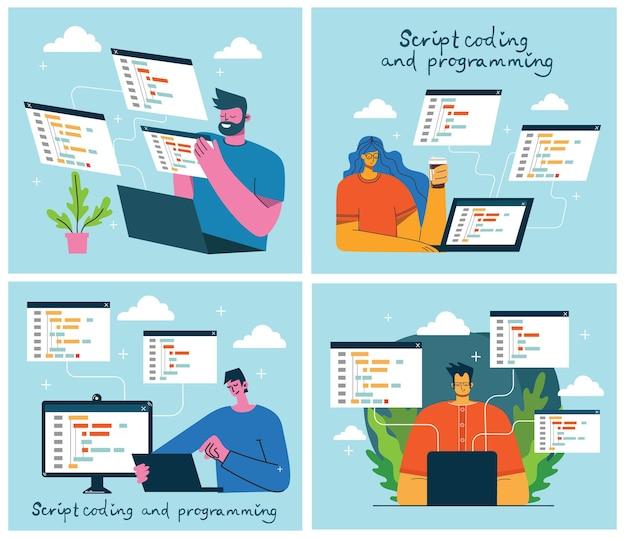 Programación y codificación, desarrollo de sitios web