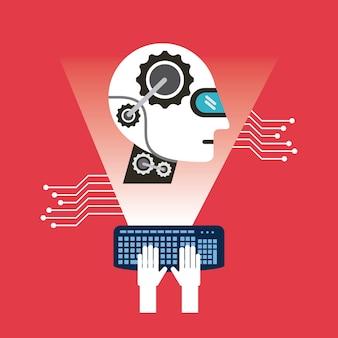 Programación de trabajo de proceso de inteligencia artificial