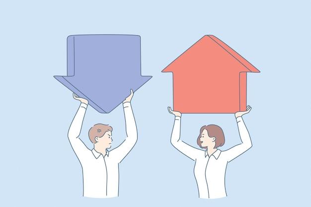 Progreso y retroceso en el concepto de negocio