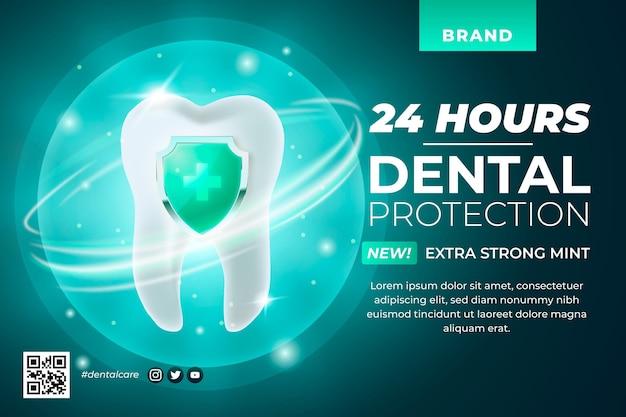 Promoción de cuidado dental realista