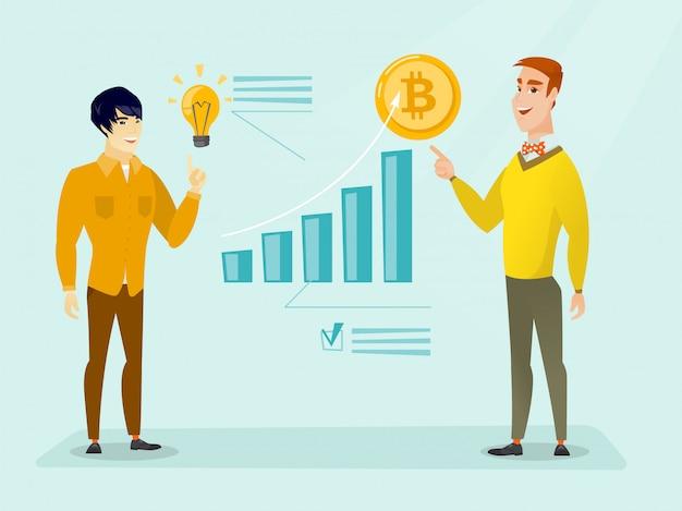 Promoción exitosa de nuevas startups de criptomoneda.