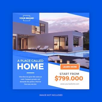 Promoción inmobiliaria minimalista