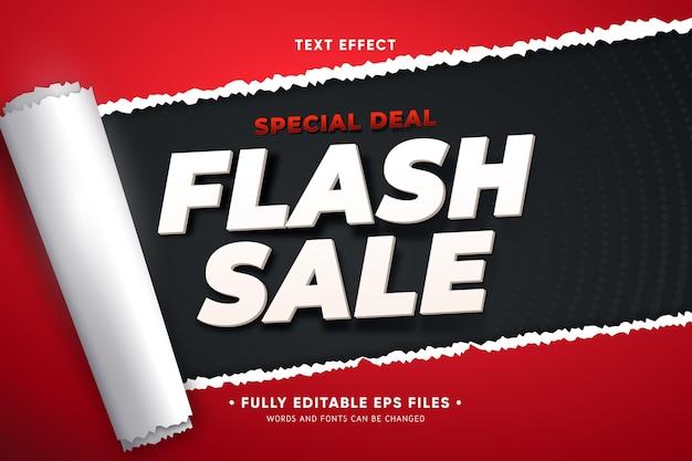 Promoción de ventas con papel rasgado