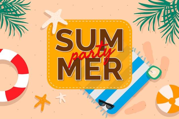 Promoción verano tropical