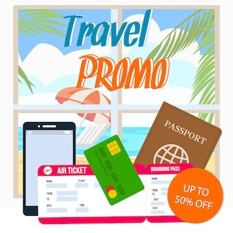 Promoción de viajes