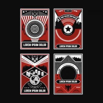 Propaganda poster colecciones