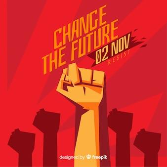 Propaganda de revolución retro