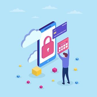 Protección de datos confidenciales, código para guardar caracteres