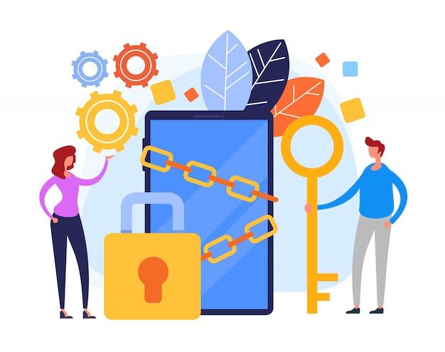 Protección de datos en línea