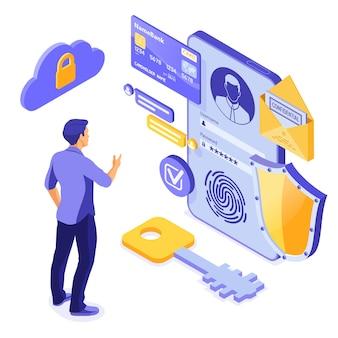Protección de datos personales, seguridad en internet.