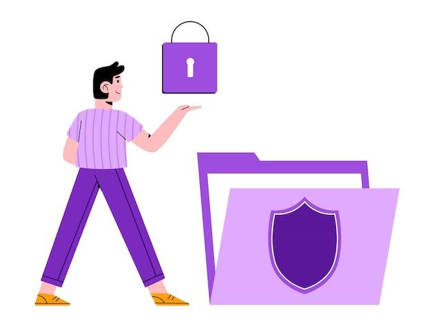 Protección de datos de seguridad cibernética