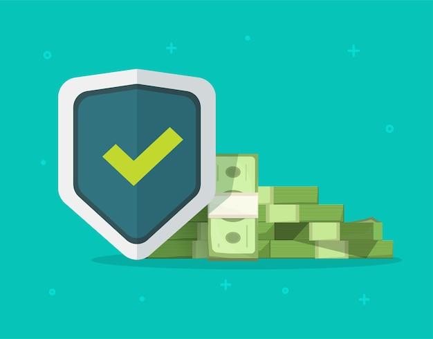 Protección del dinero, garantías de fideicomiso de seguros financieros