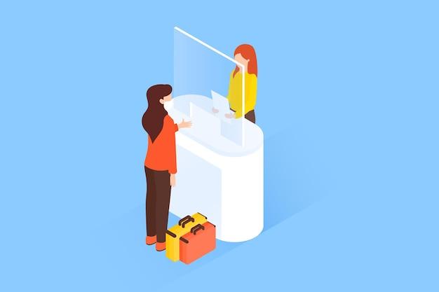 Protección de plexiglás de alta vista del cliente