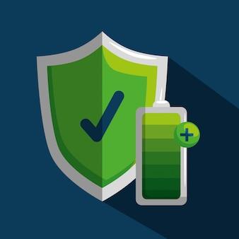 Proteja la seguridad y la batería para el bienestar del estilo de vida