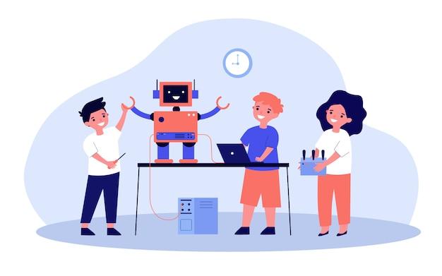 Proyecto de robótica escolar