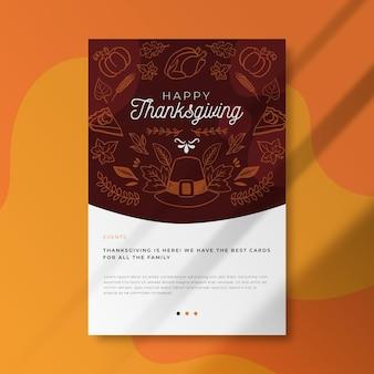 Publicación del blog de acción de gracias