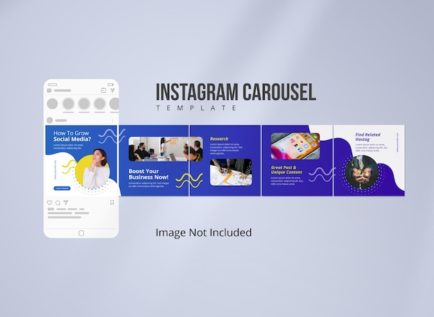 Publicación en carrusel de instagram de estrategia de redes sociales
