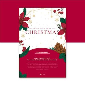 Publicación creativa del blog navideño