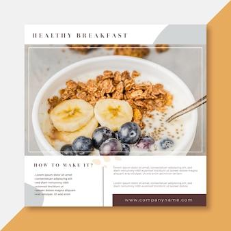 Publicación / historia de instagram de receta