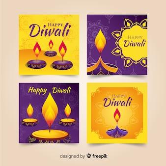 Publicación de instagram colección diwali