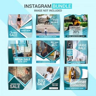 Publicación de moda en las redes sociales