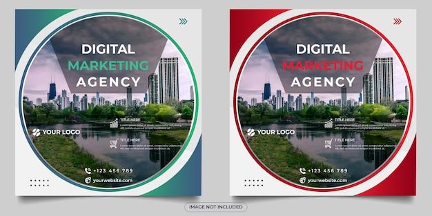Publicación en redes sociales de agencia de marketing digital