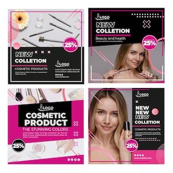 Publicaciones cosméticas de instagram