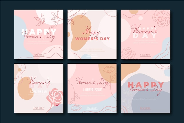 Publicaciones de instagram del día internacional de la mujer