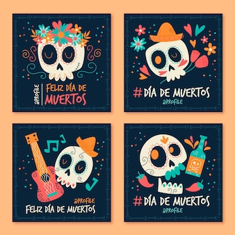 Publicaciones de instagram del día de muertos